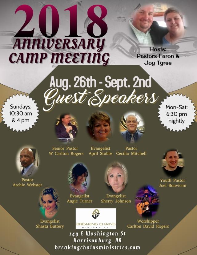 BCM 2018 Campmeeting Facebook