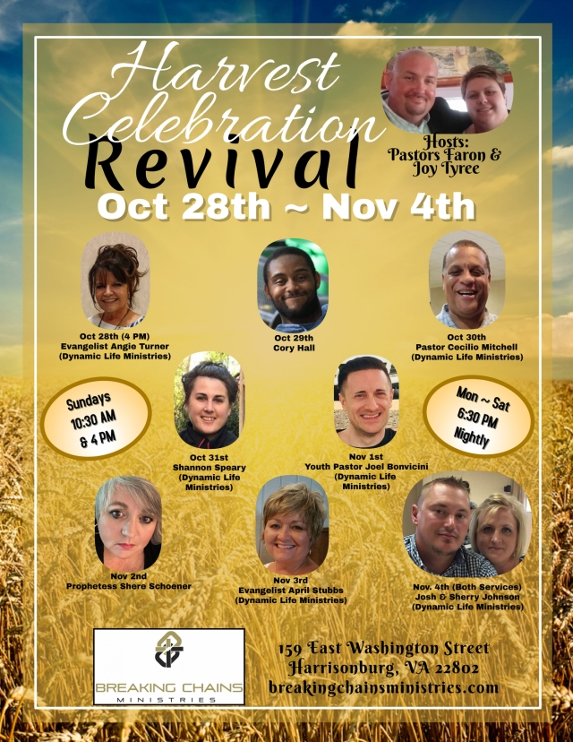 Harvest Celebration Revival 2018 Web